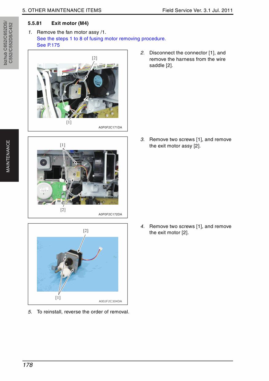 Konica-Minolta bizhub C452 C552 C552DS C652 C652DS FIELD-SERVICE Service  Manual-3